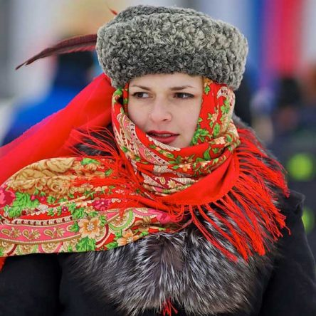 Typical Russian Dress