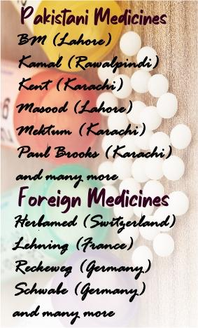 Homoeo Medicines